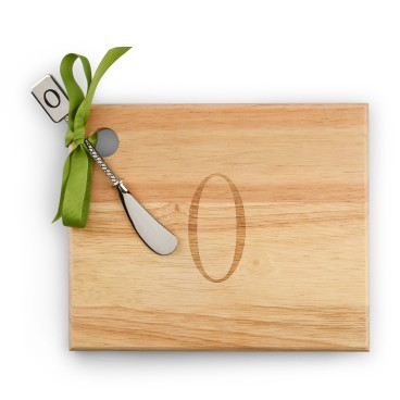 Monogramed Cheese Board with Spreader from C. Wonder $22.00