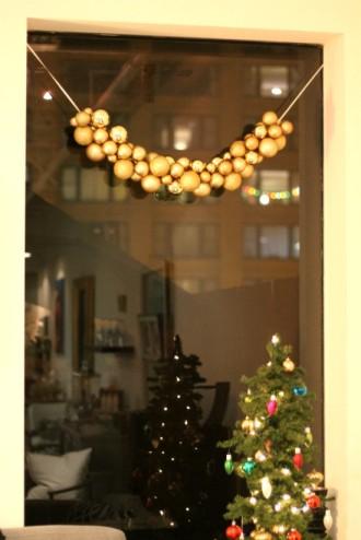 Ornament Garland via Mint Love Social Club