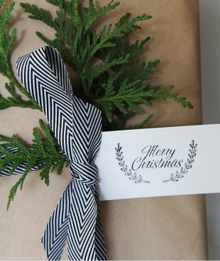 Gift Wrapping via the Penny Paper Co.