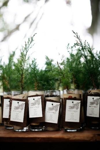Pine Tree Favors via I Do Inspiration