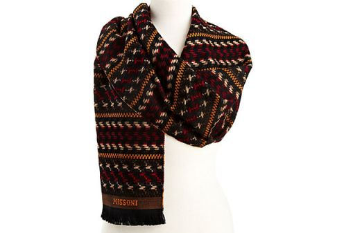 Missoni Scarf from One Kings Lane $99.00 (order today for delivery by Christmas!)