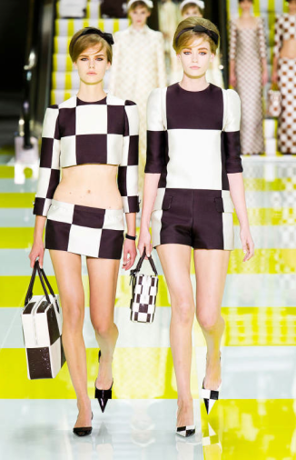 Louis Vuitton Spring 2013 Ready to Wear via Elle