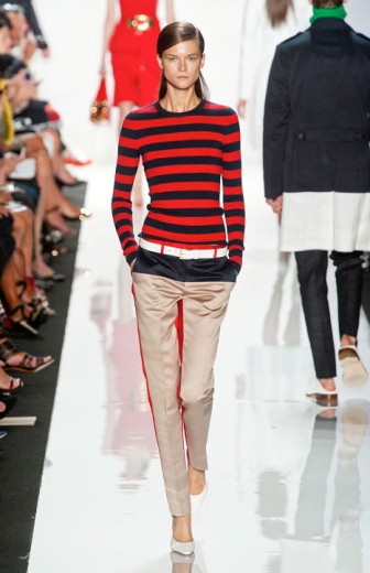 Michael Kors Spring 2013 Ready to Wear via Elle
