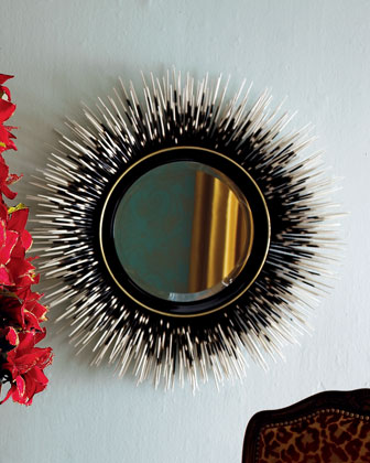 Howchow Porcupine Quill Mirror $699.90