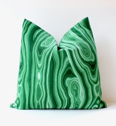Malachite Pillows