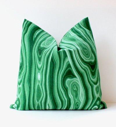 Malachite Pillows