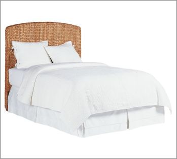 Pottery Barn Seagrass Headboard $399-$549