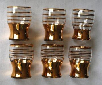 Etsy - Vintage shot glasses $16/set of 8