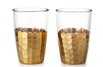 Goldleaf Glassware - $20/ea
