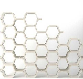 Honeycomb Shelf by Unto This Last