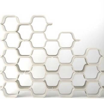 Honeycomb Shelf by Unto This Last