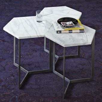 West Elm Hex Side Table $149