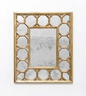 Gold Leaf Mirror - $850 Shop Ten 25