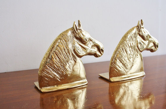 Horse Bookends $38/pair