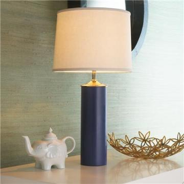 Shades of Light Ceramic Table Lamp - Navy