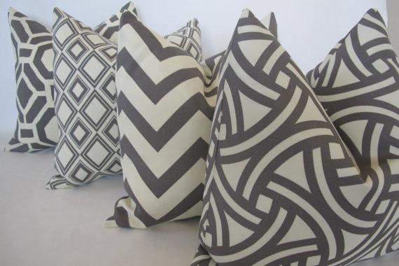 Outdoor Pillows $100/set of 4