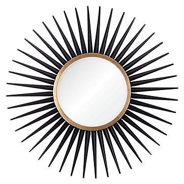 Z Gallery Rey Mirror in Black