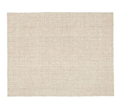 Pottery Barn Chunky Wool Rug