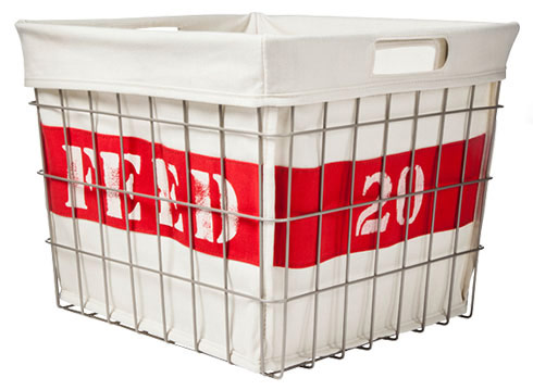 Wire Storage Bin $25 = 20 Meals