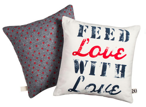 Toss Pillows $25 = 20 Meals