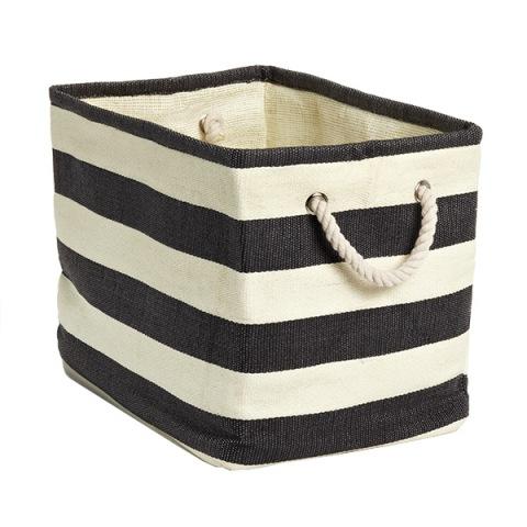 Rugby Stripe Bin - $9.99-$14.99