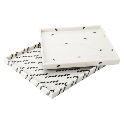 Marble Print Trays - $24.99