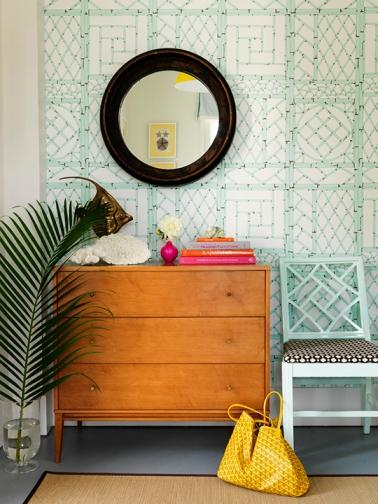 Mona Ross Berman Interiors via House Beautiful