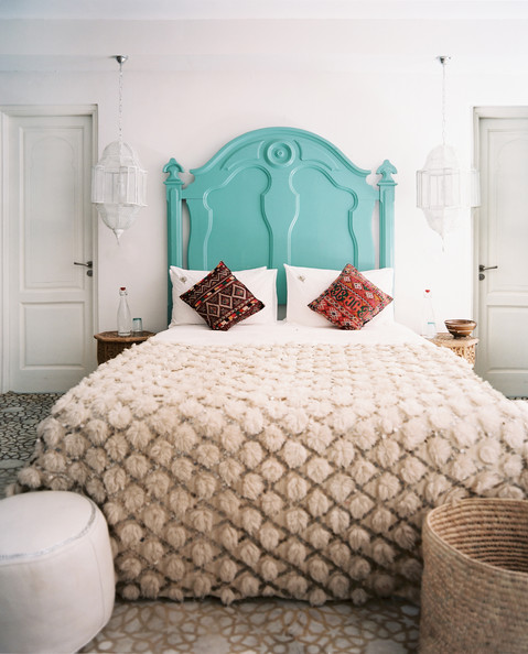 Moroccan Bedroom via Lonny