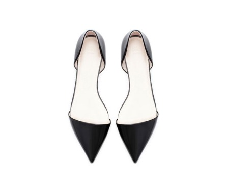 Pointed Toe Flats by Zara- $35.90