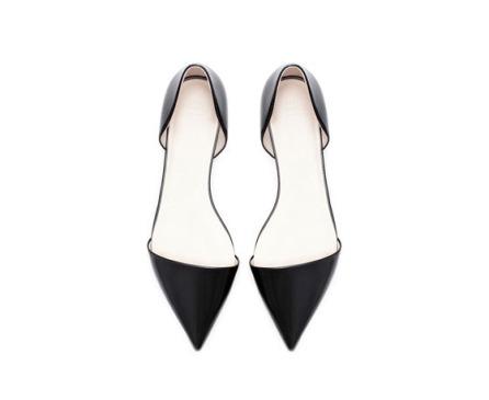Pointed Toe Flats by Zara- $35.90