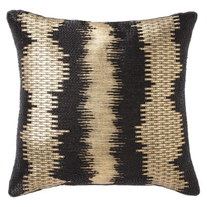 Black and Gold Pillow - $24.99