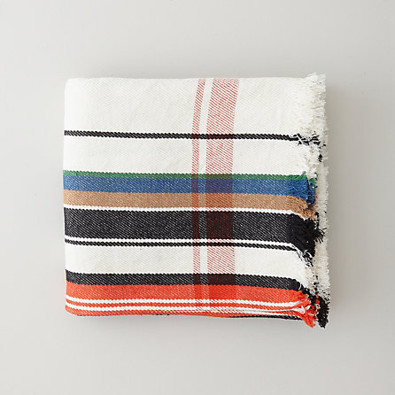 Multistripe Blanket by Steven Allen - $195
