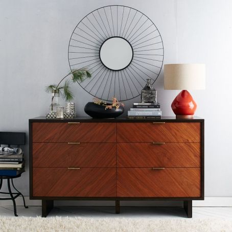 Chevron Grain Dresser