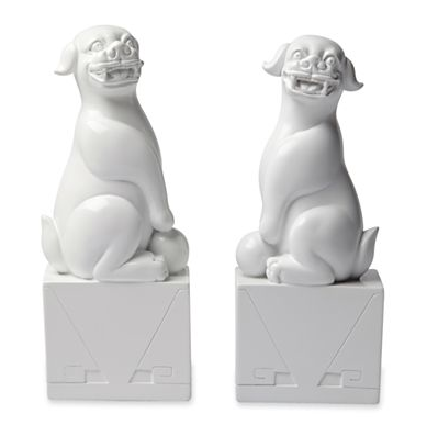 Elizabeth Foo Dog Bookends - $24.99 clearance