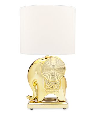 Catherine Elephant Accent Lamp - $50