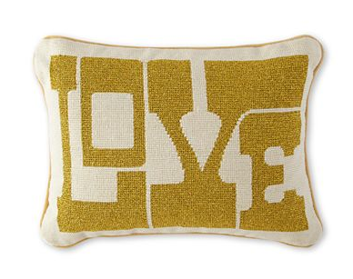 Love Decorative Pillow - $55