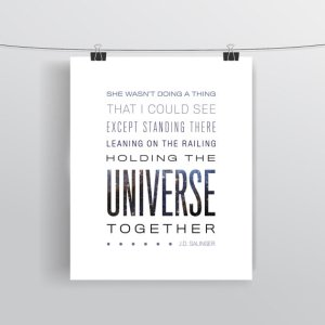Typographic Print - Quotational - Etsy ($8.00)