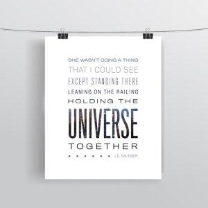 Typographic Print - Quotational - Etsy ($8.00)